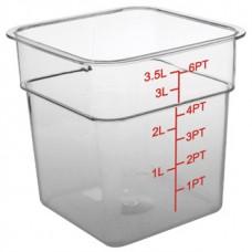 Vogue Polycarbonate Container 3.5Ltr