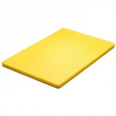 Hygiplas Low Density Chopping Board Yellow