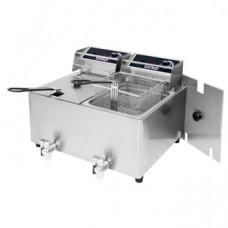 Birko Double Fryer, 2 x 8L